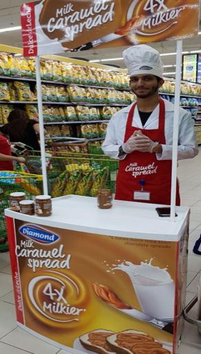 New Product Launch: Diamond Milk Caramel Spread!